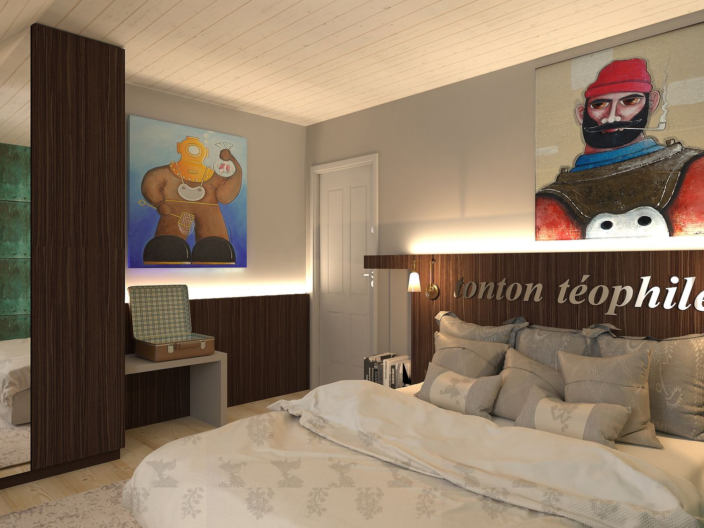 La chambre Tonton Téophile